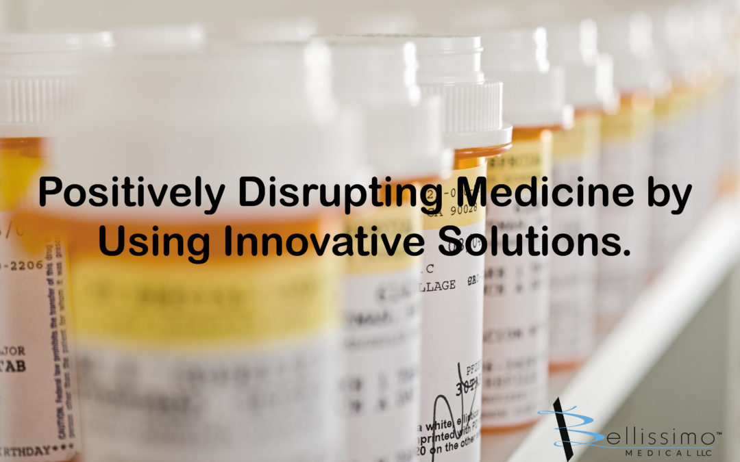 Positively Disrupting Medicine by Using Innovative Solutions.