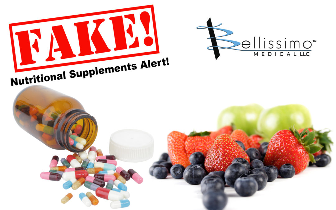 Fake Nutritional Supplements Alert!